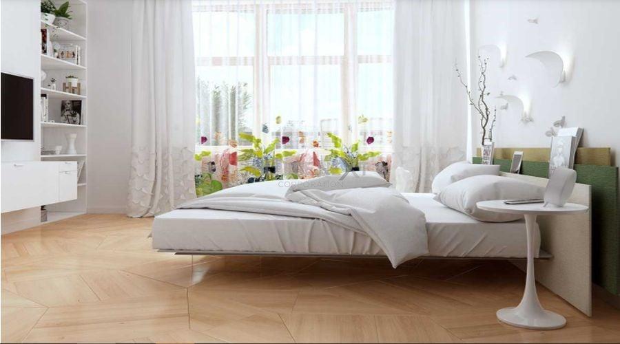 Phòng ngủ hiện đại, đơn giản sử dụng tông màu sáng