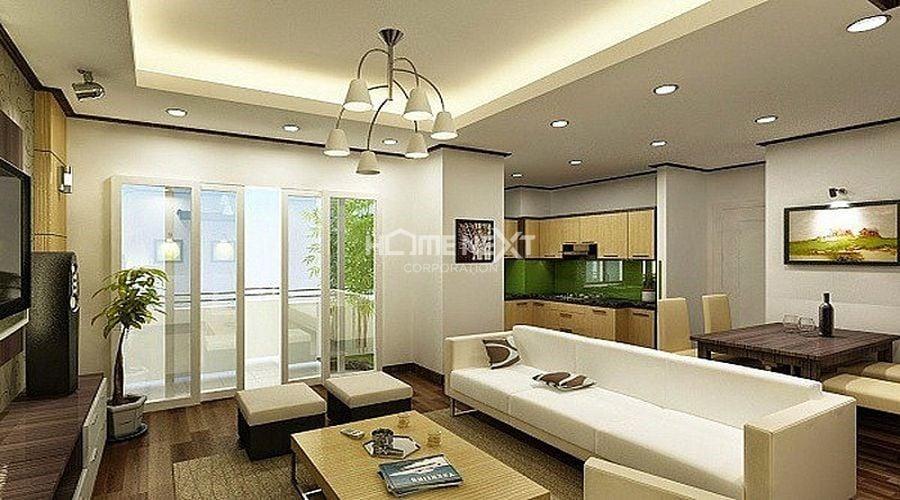 Nội thất hiện đại rất dễ kết hợp với nội thất gỗ tự nhiên