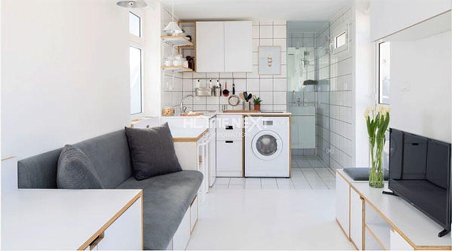 Tiết lộ những mẹo tuyệt vời giúp ăn gian diện tích cho căn hộ nhỏ