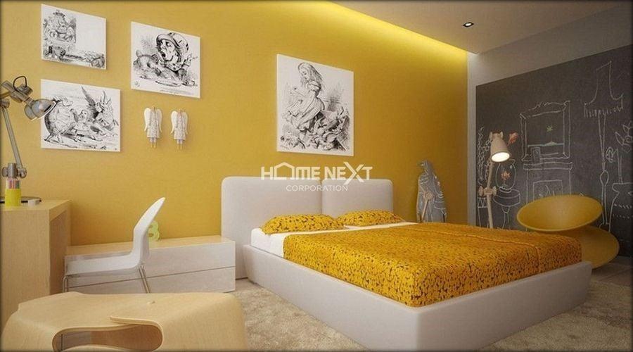 Tông màu Vàng được nhiều gia chủ yêu thích và lựa chọn