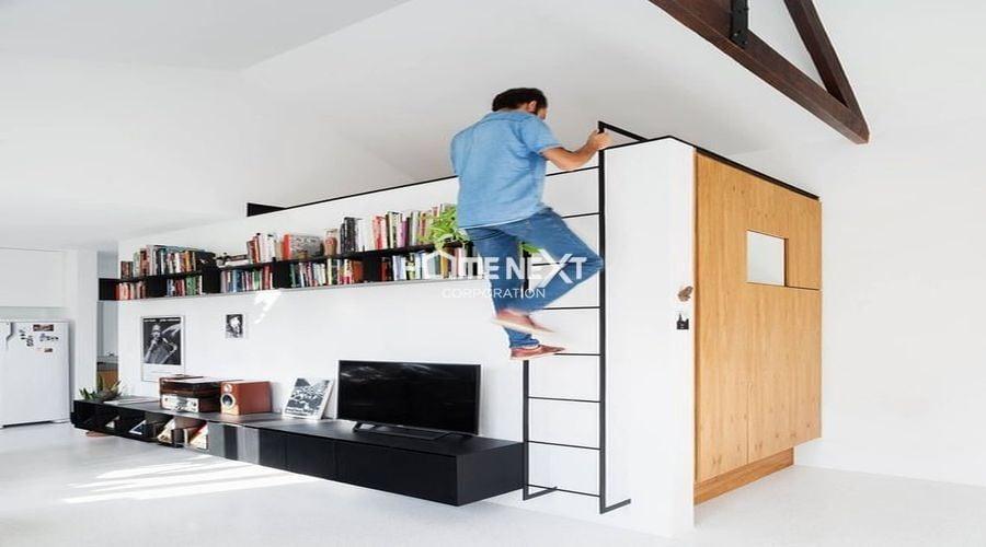 Ngăn chứa đồ giải quyết vấn đề lưu trữ cực tốt cho ngôi nhà
