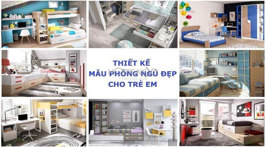 Thiết kế phòng ngủ đẹp cho trẻ em