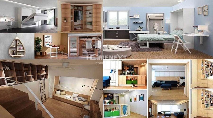 Nội thất đa năng cho căn hộ 1 phòng ngủ