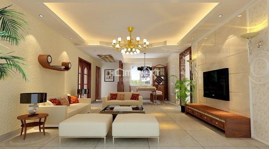 Đèn trang trí trần tạo không gian lung linh, ấn tượng cho căn hộ