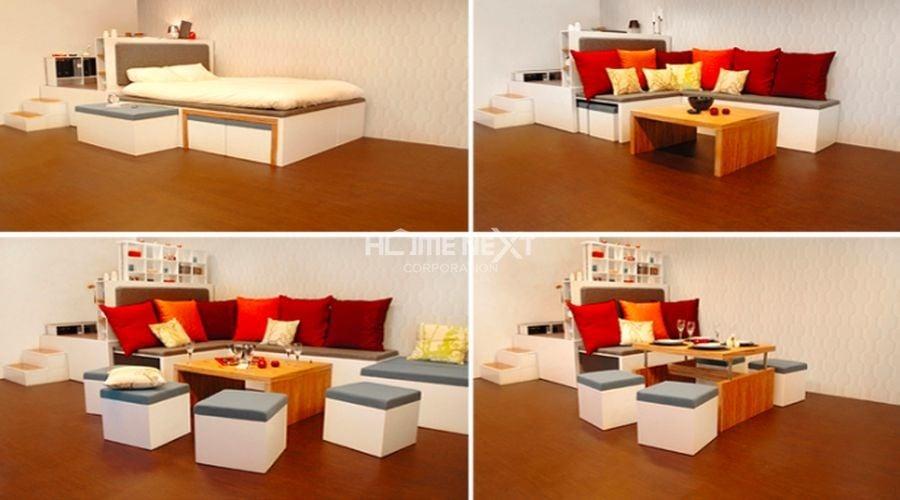 muc-5Lựa chọn nội thất cho chung cư nhỏ