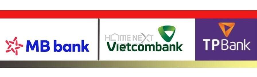 Ngân hàng bảo lãnh: Vietcombank, BM Bank, TP Bank