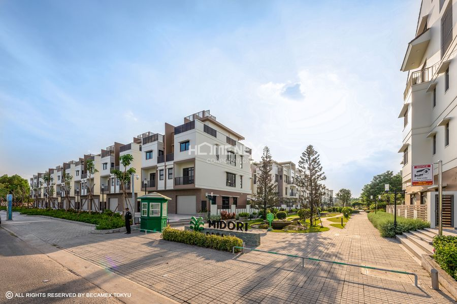 Hình ảnh nhà phố 1 trệt 3 lầu nhà phố Haruka Terrace