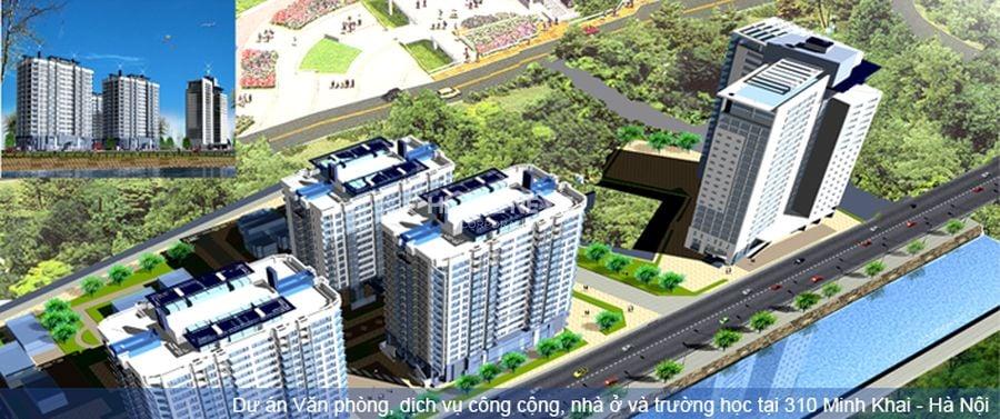 Dự án khu văn phòng, dịch vụ, công cộng, nhà ở tại 310 Minh Khai
