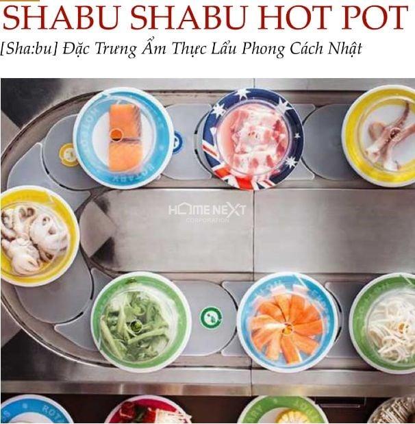 Nhà hàng lẩu Shabu Shabu