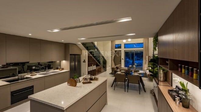 Thiết kế phòng bếp hiện đại, tối đa công năng sử dụng