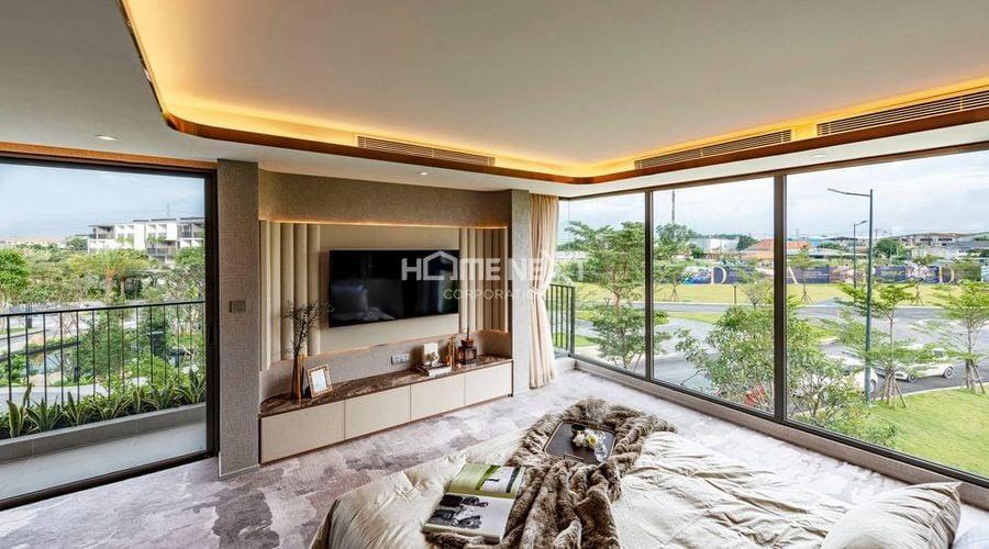 nha-mau-12Không gian phòng ngủ với view nhìn cực đẹp