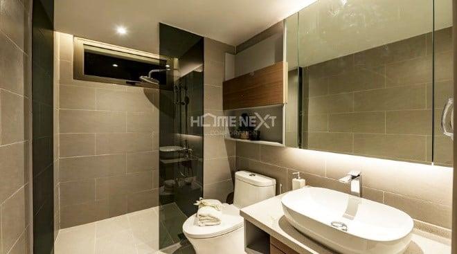 Mỗi phòng đều được bố trí phòng vệ sinh riêng biệt