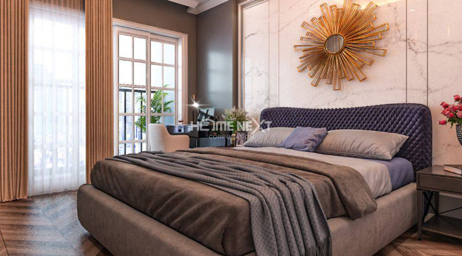 Thiết kế nhà mẫu 3 phòng ngủ tại Eco Xuân block C