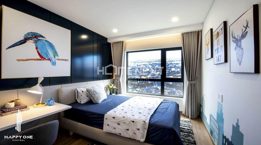 Thực tế căn hộ mẫu 2 phòng ngủ hiện đại tinh tế tại dự án