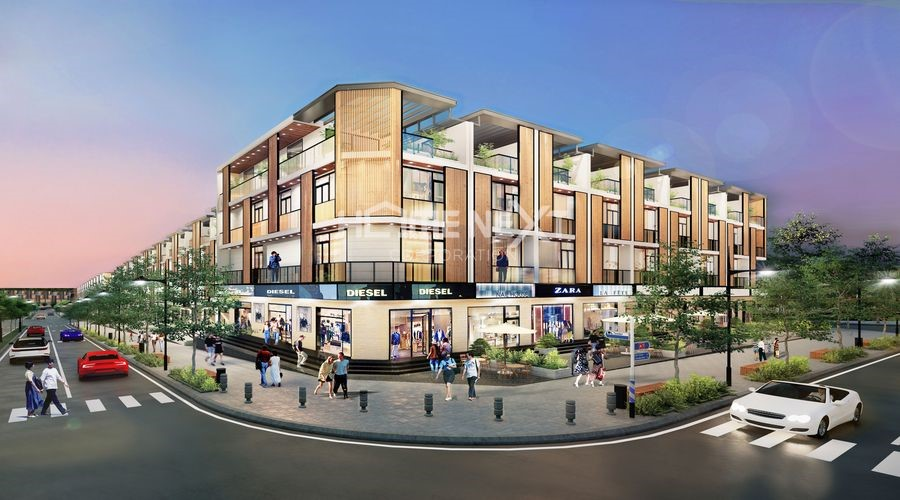 Phối cảnh nhà phố thương mại Takara Residence