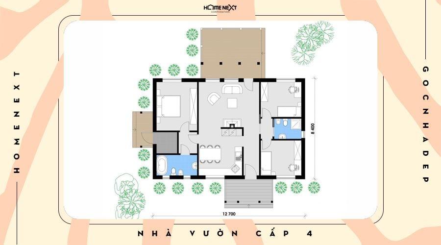 Thiết kế không gian nhà