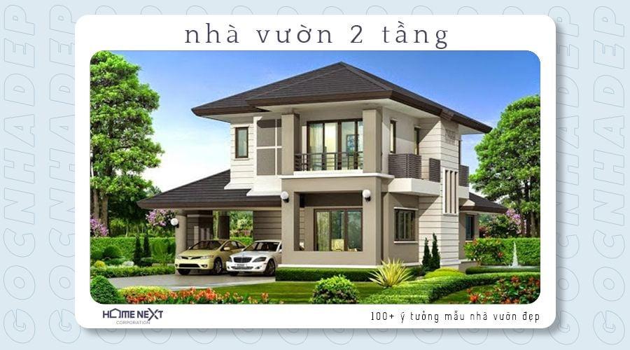 Một căn hộ 2 tầng điển hình và phổ biến hiện nay