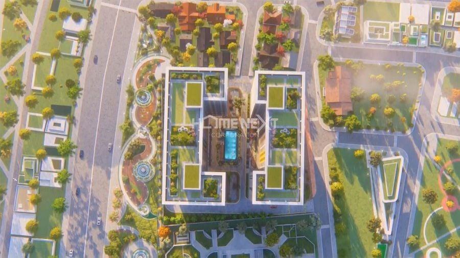 Bcons Plaza được nhìn từ trên cao
