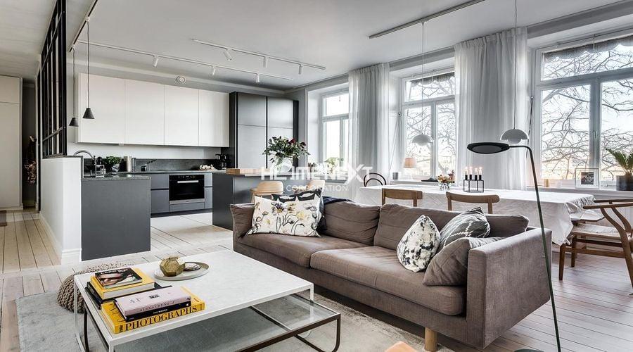 Thiết kế nội thất theo xu hướng Bắc Âu