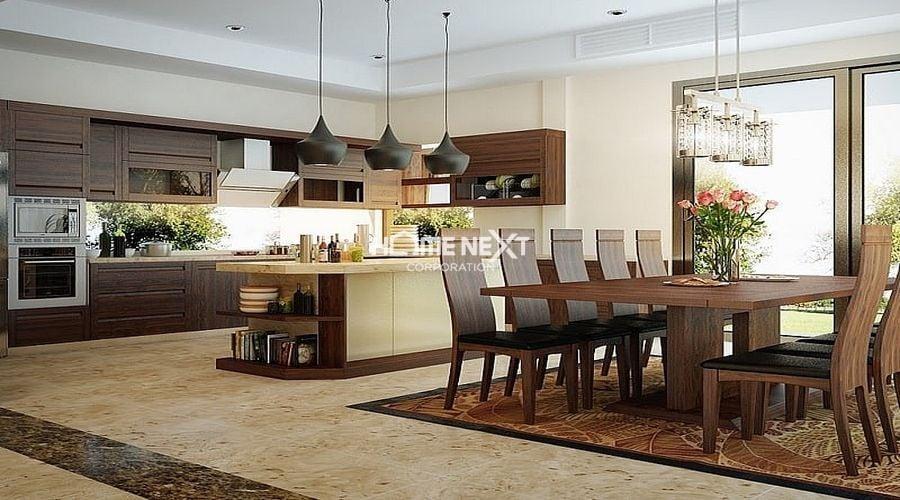 Nội thất gỗ được sử dụng nhiều trong những thiết kế hiện đại
