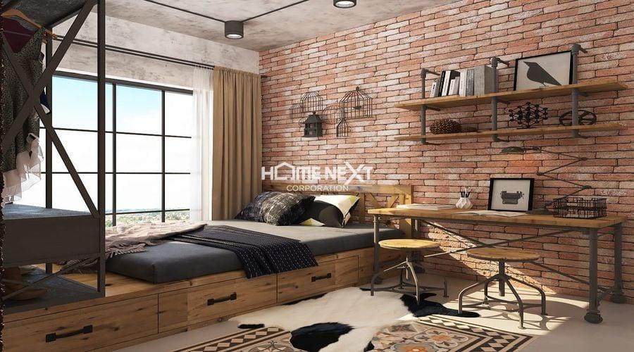 Sử dụng nội thất mộc mạc, tự nhiên nhưng không kém phần tinh tế