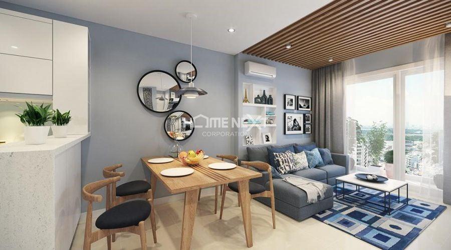 Bố trí nội thất tối giản để không gian sống rộng rãi hơn