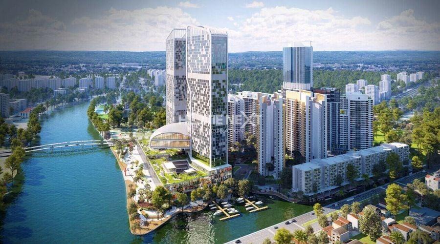 River Panorama được đánh giá cao nhờ hệ thống tiện ích nội khu đẳng cấp
