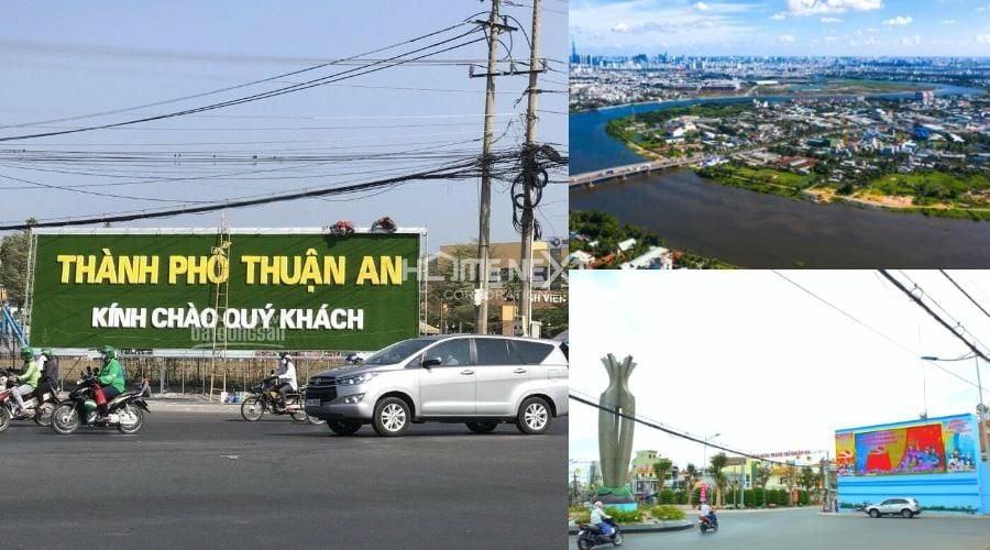 Thuận An với khả năng liên kết vùng rất lớn