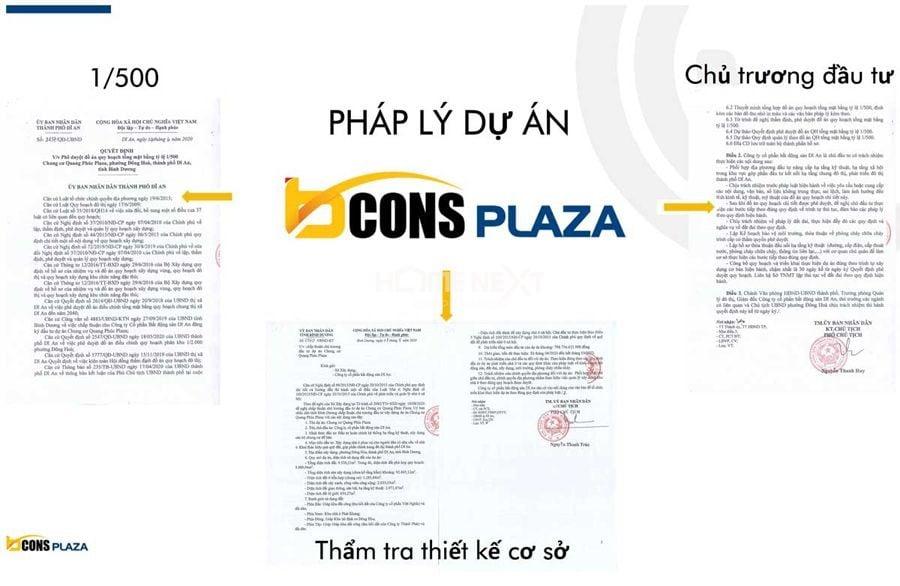 pháp lý dự án