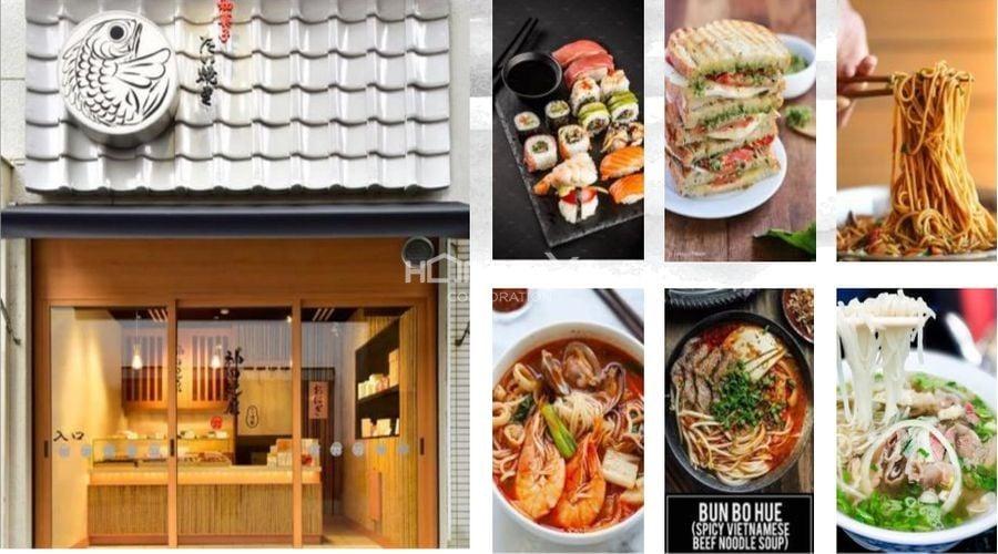 Phố ẩm thực Kimochi