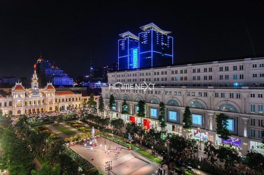 Phố đi bộ Nguyễn Huệ quận 1