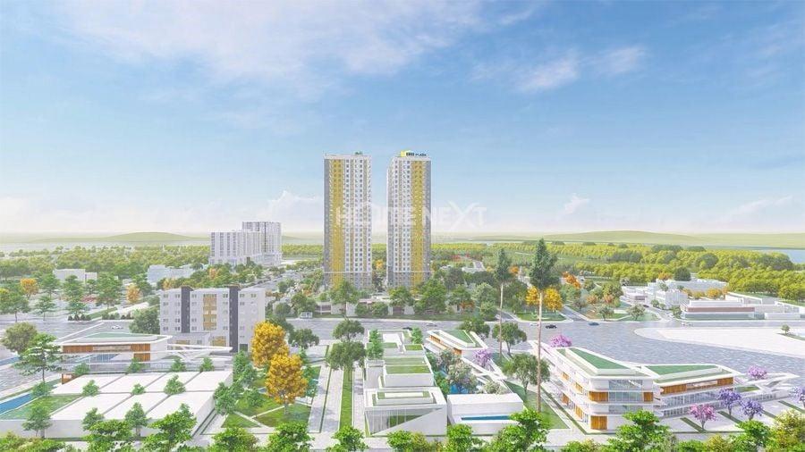 Toàn cảnh dự án Bcons Plaza Dĩ An Bình Dương