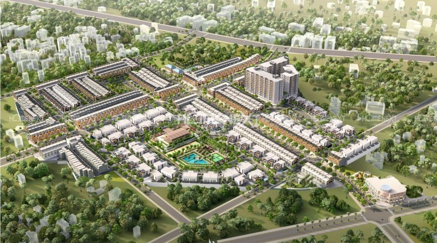 Phối cảnh tổng thể dự án Takara Residence Bình Dương