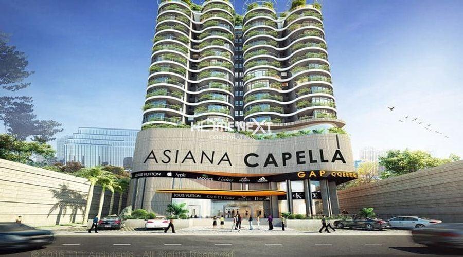 Cận cảnh dự án căn hộ Asiana Capella