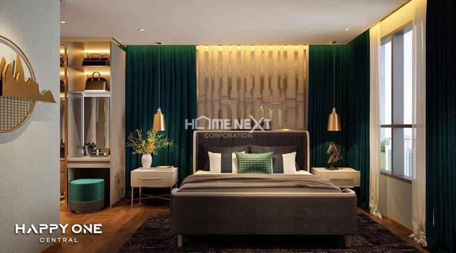 100% các căn có phòng ngủ với view nhìn ra ngoài