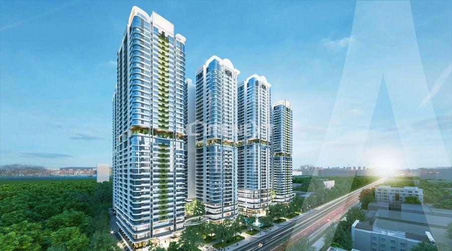 Dự án trung tâm thương mại & căn hộ cao cấp Bình Dương