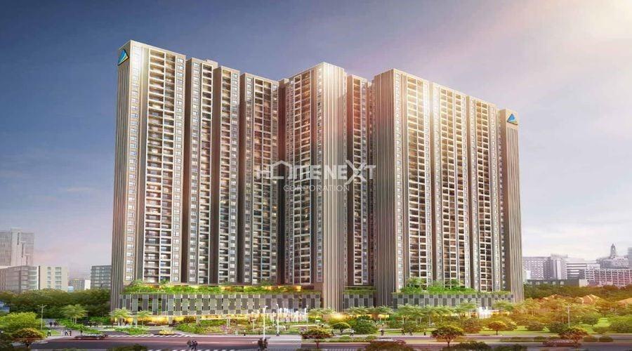 Phối cảnh dự án căn hộ Opal Cityview Thủ Dầu Một