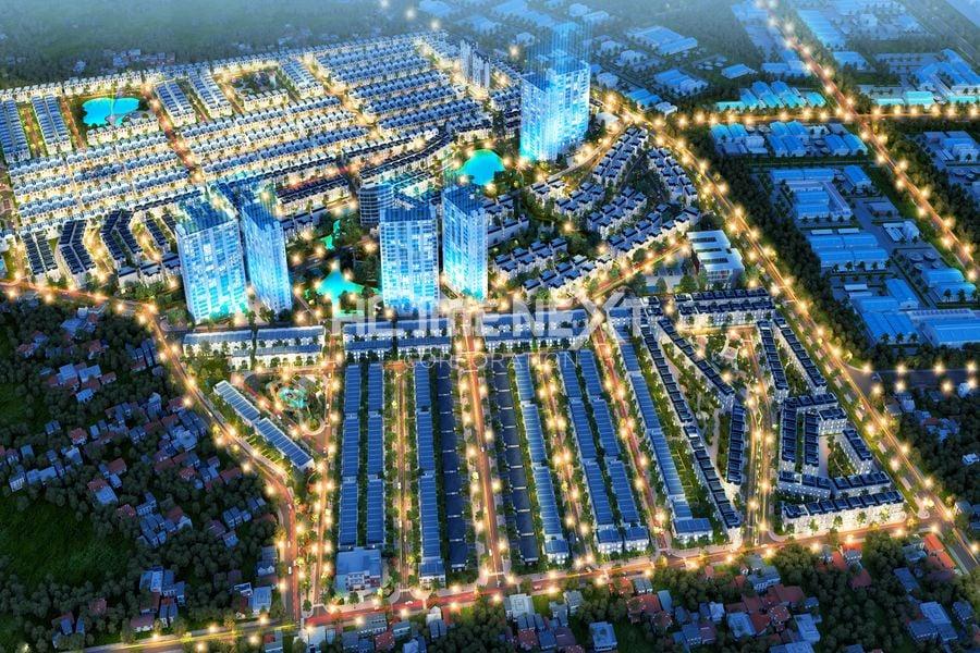Phối cảnh dự án nhà phố Đại Phước Molita Bàu Bàng Bình Dương