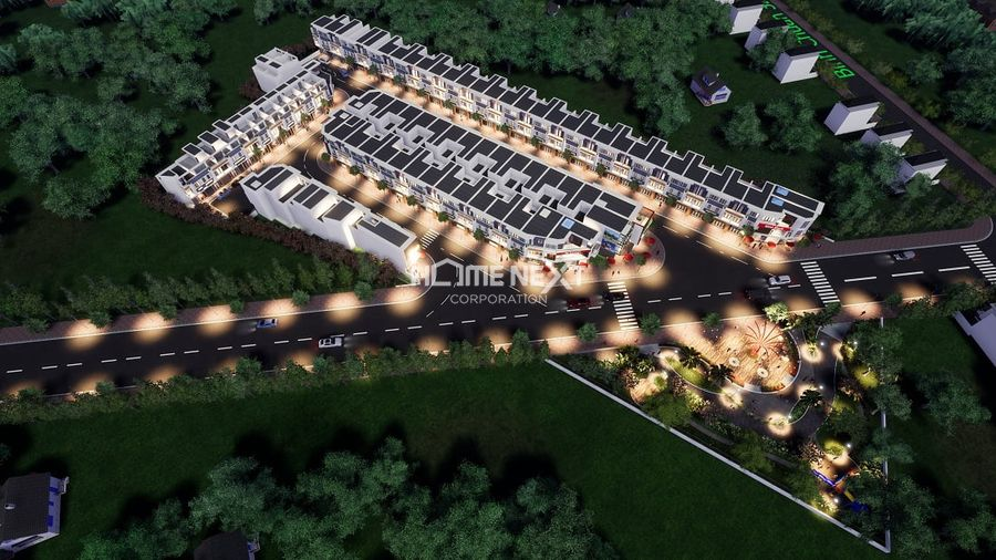 Phối cảnh dự án nhà phố Lavela Garden Bình Dương