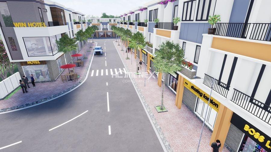 Shophouse khu mua sắm tiện lợi của La Vela Garden Thuận An