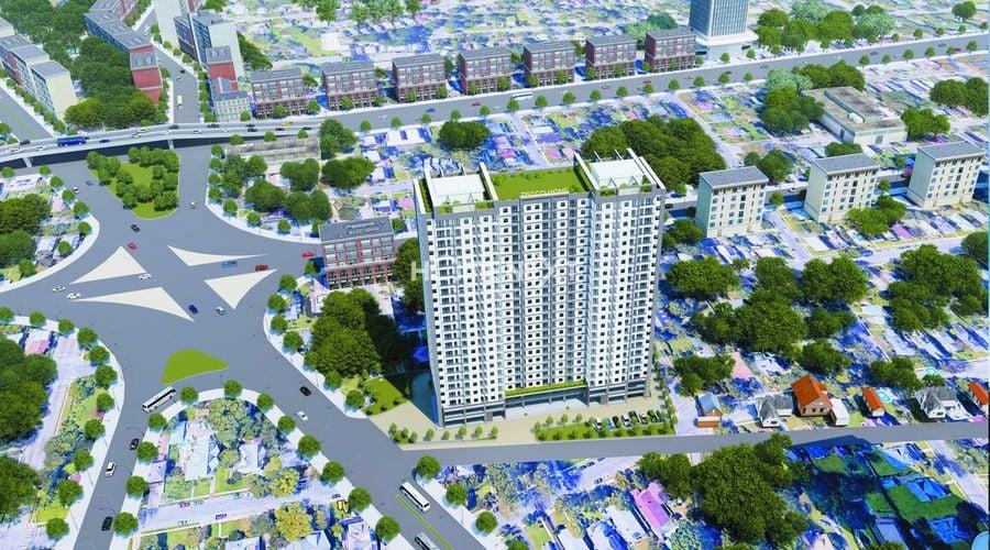 Hình ảnh tổng quan dự án Tecco Home An Phú