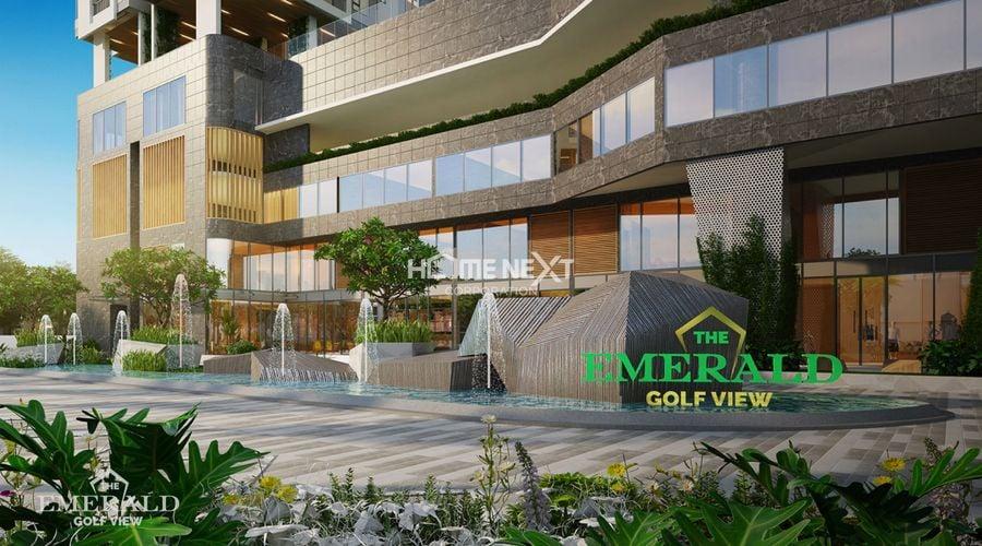 thiết kế sảnh trung tâm thương mại tại emerald bình dương