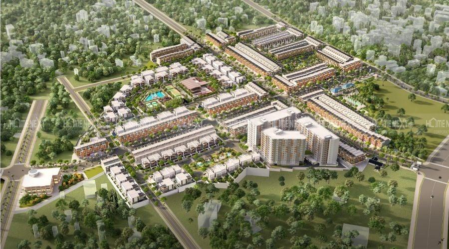 Phối cảnh dự án nhà phố Takara Residence Thủ Dầu Một