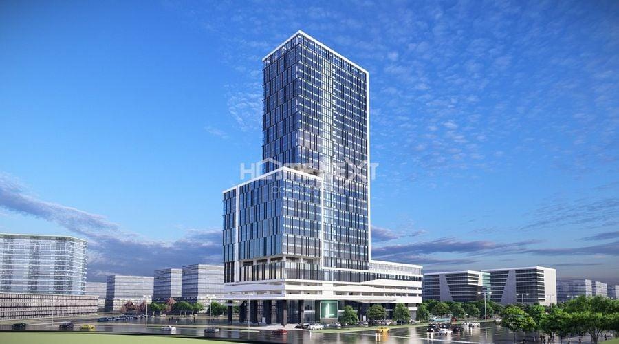 Phối cảnh dự án tòa nhà Becamex thành phố mới Bình Dương