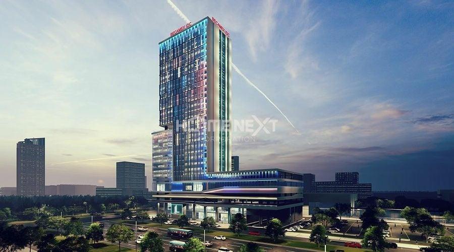 Tòa nhà văn phòng - thương mại - dịch vụ Becamex trong tương lai