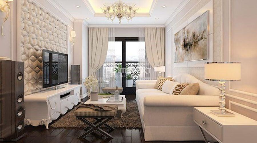 Hiện đại, cá tính đem lại sự mới mẻ cho không gian căn hộ