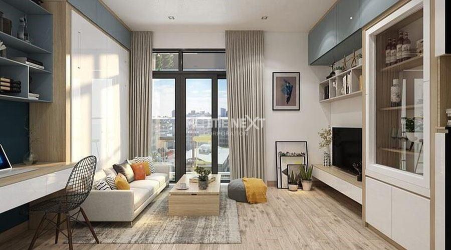 Phong cách thiết kế căn hộ hiện đại tạo ra không gian sống rất thoải mái