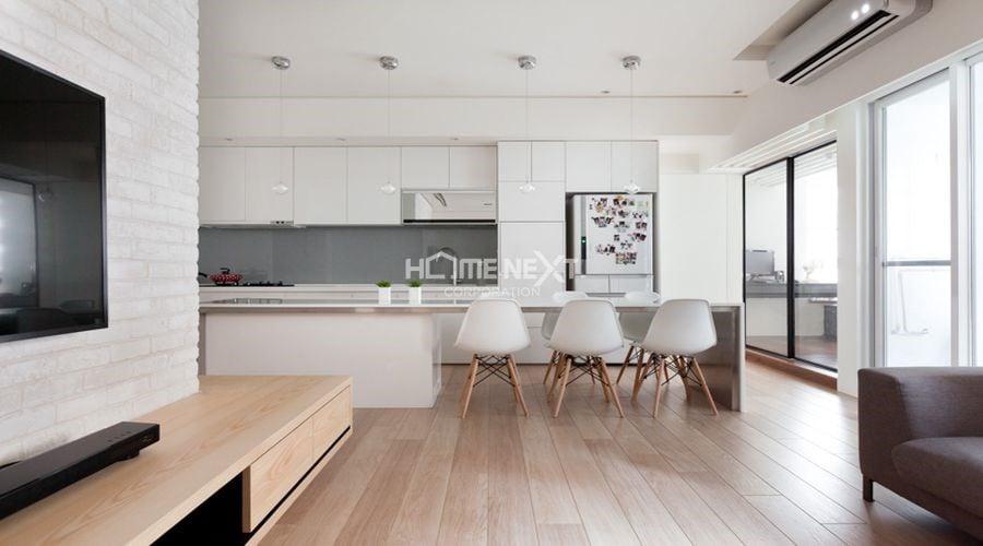 Phong cách hiện đại trong thiết kế căn hộ