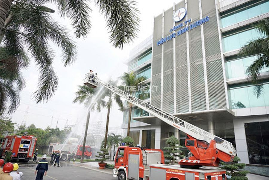 Phòng cháy chữa cháy Bình Dương