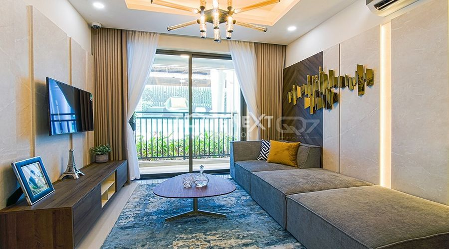Căn hộ mẫu của chung cư 9X Ciao Bình Dương - phòng khách